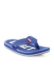 Soviet Aprilia Flip Flops Blue