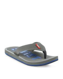 Soviet Aprilia Flip Flops Grey