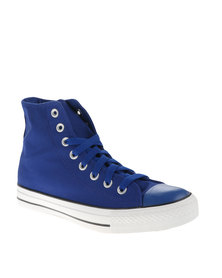 Soviet Mirada Hi Cut Canvas Mono Upper Sneakers Blue