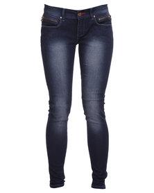 Soviet Pillar Ms No 8 Elena Skinny Jeans Indigo