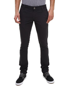 Soviet Falcons Slim Fit Chino Pants Black