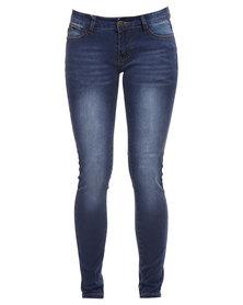 Soviet Aloura No 8 Elena Skinny Jeans Indigo
