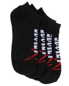 Soviet Nassua Two Pack Socks Black