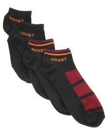 Soviet Jose Multi Pack Socks Multi