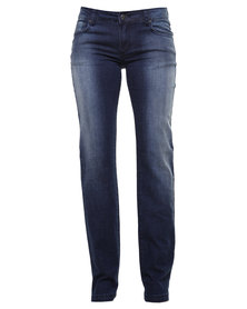 Soviet Stacy Jeans Blue
