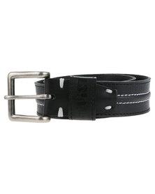 Soviet Leather Belt Black