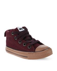 Soviet Ashley Sneakers Burgundy