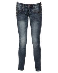 Soviet Sherwood Skinny Jean No 3 Victoria Blue