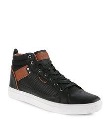 Soviet Edge Sneakers Black