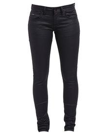 Soviet Atomic Kitten Skinny Jeans Black