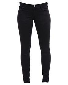Soviet London Skinny Jeans Black