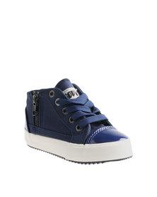 Soviet Sigma Kids Sneakers Navy