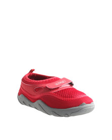 Soviet Pacer Kids Slip-On Shoes Red/Grey