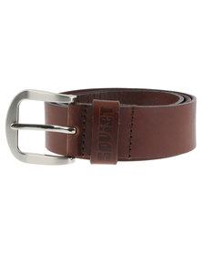 Soviet Orion Leather Belt Tan
