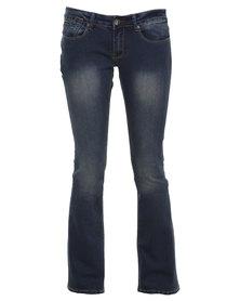 Soviet Dawn Bootleg Jeans Indigo