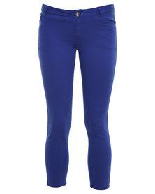 Soviet Polygonia Pants Blue