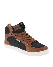 Soviet Pirelli Sneakers Black/Tan