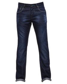 Soviet Ladbroke #12 Straight Leg Jeans Blue