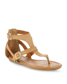 Soviet Kiley Sandals Tan