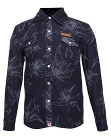 Soviet Holloway Shirt Dark Indigo