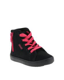 Soviet Delia Hi Top Toddler Sneaker Black