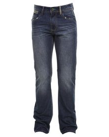 Soviet Lexington Straight Leg Jean Blue