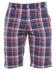 Soviet Check Shorts Multi