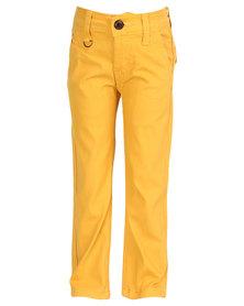 Soviet Dafoe Straight Leg Chino Yellow