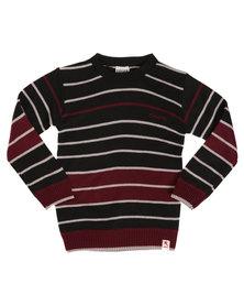Soviet Angus Striped Jersey Black
