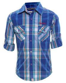 Soviet Florida Shirt Blue