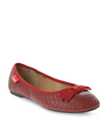 Soviet Angel Pumps Red