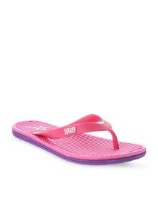 Soviet Kensington Flip Flops Pink