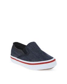 Soviet Cruzer Slip-On Shoes Blue