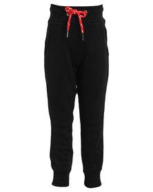 Soviet Pascal Cuffed Track Pants Black