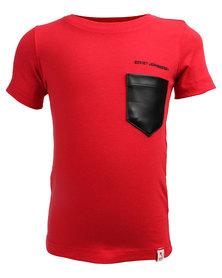Soviet Rudd Pocket Tee Red