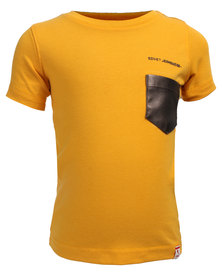 Soviet Rudd Pocket Tee Yellow