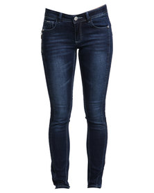 Soviet  Lativa Jeans Blue