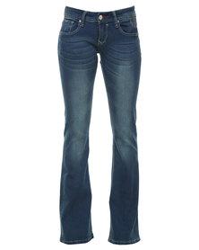 Soviet Wakefield Bootleg Jeans Indigo