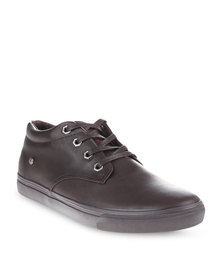 Soviet Astra Mid Cut Sneakers Brown