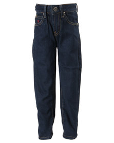 Soviet Enigma Straight Leg Jeans Blue