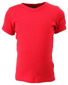Soviet Bolt Short Sleeve Tee Red