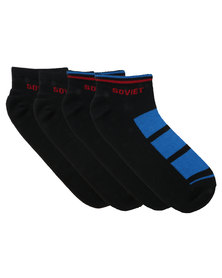 Soviet Jose 2 Pack Sock Multi-Colour