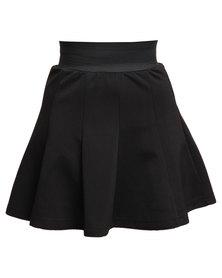 Soviet Apparel Monopoly Skirt Black