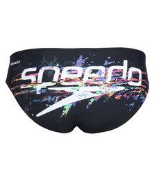 Speedo Endurance Glitch Stack 8cm Briefs Black