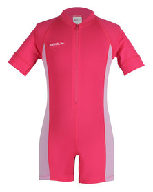 Speedo Endurance All in One Suit Neon Pink