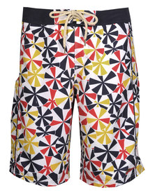Speedo Beach Umbrellas Boardshorts Multi