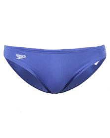 Speedo Endurance Logo Briefs Blue