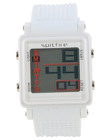Spitfire Digital Watch White
