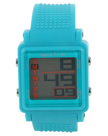 Spitfire Digital Watch Turquoise