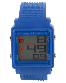 Spitfire Digital Watch Blue